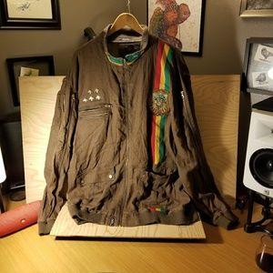 LRG Roots And Equipment Rasta Reggae jacket